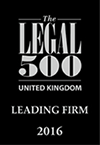 UK Leading Firm 2016